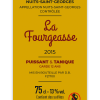 Nuit Saint-Georges Fourgeasse 2015