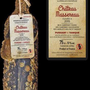 Bordeaux supérieur Massereau, cuvée X, 2015